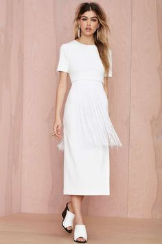 Maurie & Eve Voyage Fringe Dress | Shop What's New at Nasty Gal