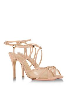 Charlotte Olympia - Nude Mesh Shoes