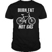 Burn Fat Not Gas Cycling T Shirts, Biking, Fat Burning, Black Men, Burns, Mens Tops, Fashion, Moda, Bicycling