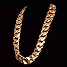 Bullion Heaven product, miami cuban link, check out our website now www.bullionheaven.bigcartel.com #miamicubanlink #cubanlink #goldlink #goldchain #goldpiece #goldnugget #bullionheaven #18k #14k #jesuspiece #angelpiece #pharaohpendant #boss #stacks #swaggod #highsnobiety #hypebeast #rvspgallery  #amhush #dopepiece #blvck #goldheaven #hippop #golggod #ladies #lady #liberty Jesus Piece, Hip Pop, Cuban, Hypebeast, Gold Chains, Liberty, Miami, Boss, Swag