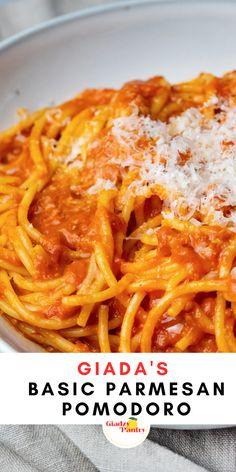 Giada Recipes, Wine Recipes, Food Network Recipes, Pasta Recipes, Great Recipes, Vegetarian Recipes, Cooking Recipes, Favorite Recipes, Italian Dishes
