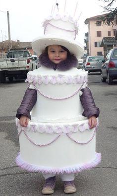 Idee di carnevale: il costume da torta