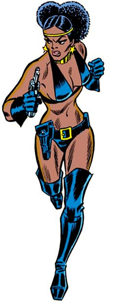 Deadly Nightshade - Marvel Comics - Tilda Johnson