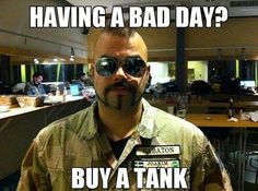 Most popular tags for this image include: bad day, tank and sabaton