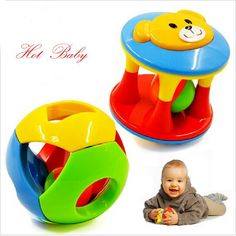 Baby Toy Fun Little Loud Jingle Ball  Develop Baby Intelligence,Training…