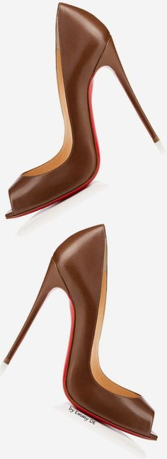 Christian Louboutin | @ brown