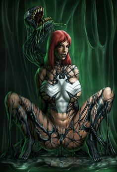 deviantART: More Like MJ é She-Venom por bigMdesign