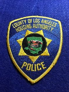 OLD-DEFUNCT-LOS-ANGELES-CO-CALIFORNIA-HOUSING-POLICE-PATCH