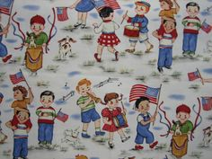 Michael Miller  Patriotic pals ( 18 x 32 inches ) by SharriesLOVECOMFORTS on Etsy