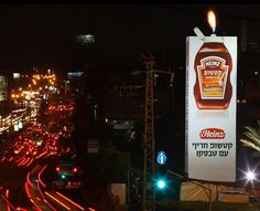 A agência Shalmor Avnon Amichay Y de Tel Aviv promoveu o Ketchup picante da Heinz