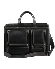 Silvio Tossi Smooth Leather Business Bag  Men
