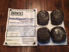 Darwin's raw dog food Cancer support formula - Intelligent Design - is a prescription raw dog food for dogs with cancer. This article is about what's in the food and why it's a good choice for dogs with cancer.