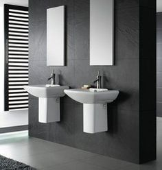 1000 Images About Guest Bath On Pinterest Pedestal Sink Modern Wall And S