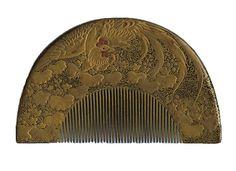 comb, Edo era, 17-19 century