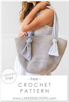 Spencer Crochet Market Bag – FREE Pattern – Lakeside Loops Source by astagenis bag Crochet Beach Bags, Bag Crochet, Crochet Market Bag, Crochet Handbags, Crochet Purses, Crochet Summer, Knit Bag, Crochet Fabric, Crochet Bag Tutorials