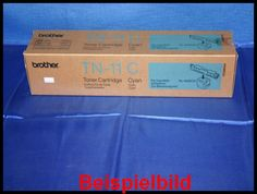 Brother TN-11C Lasertoner Cyan / Blau -A  - für Brother HL-4000C    Zur Nutzung für private Auktionen z.B. bei Ebay. Gewerbliche Nutzung von Mitbewerbern nicht gestattet. Toner kann auch uns unter www.wir-kaufen-toner.de angeboten werden.