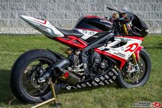 2013 Triumph Daytona 675R DSB Race