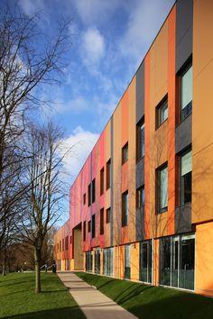 St. Albans academy, Birmingham. dRMM Architects. EQUITONE facade materials. equitone.com