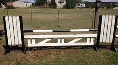 How to build a horse jump gate