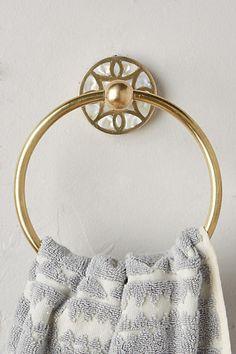 Anthropologie Launis Towel Ring
