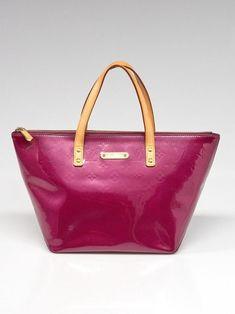 Louis Vuitton Violette Monogram Vernis Bellevue PM Bag Lambskin Leather 0e31aabf28ef4