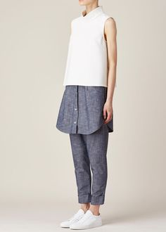 Totokaelo - Rachel Comey White Exclusive Una Top