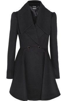 Alexander McQueen Wool and cashmere-blend coat | NET-A-PORTER
