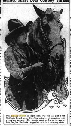 258e963026a 275 Best Dorothy Morrell - Bucking Horse Rider images