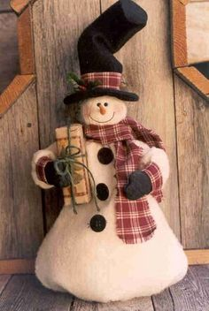 Gramma Scuffy's - Craft Patterns - Gramma Scuffy's – Craft Patterns Gramma Scuffy's – Craft Patterns Christmas Crafts To Make, Christmas Sewing, Primitive Christmas, Christmas Snowman, Christmas Projects, Winter Christmas, Holiday Crafts, Christmas Decorations, Christmas Ornaments
