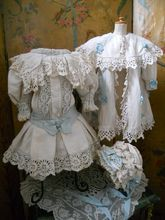 ~~~ Three Piece Pique Ensemble for French or German Doll ~~~