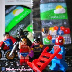 Visit #Plushism #EtsyShop http://www.plushism.etsy.com #GalaxyS6edge #galaxynote4, #GalaxyNoteEdge #GalaxyS6 #samsunggalaxy #handmade #Spiderman #toyphotography #LegoPhotography #google #Superman #WonderWoman #Spiderman #Batman #handmadegift #birthdaygift #customize