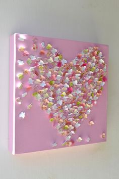 3D Butterfly Wall Art / Pink Butterfly Art / Baby Girl Nursery Art / Unique Baby Shower Gift / Girls Room / MADE TO ORDER. $50.00, via Etsy.