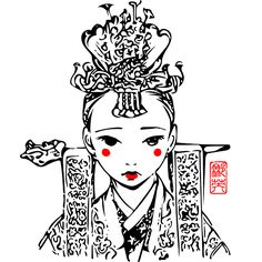 Want these modern korean fashion Korean Tattoos, Art Photography, Asian Art, Sketches, Korean Traditional, Drawings, Korean Art, Art, Korean Design