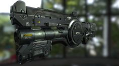 ArtStation - Star Citizen Fan Art - Burst Cannon, Craig Prince
