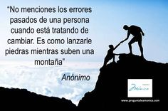 #errores #actitud #esfuerzo #pareja #trabajo #hijos #padres #familia #bienestar #salud #vida #preguntaleamonica