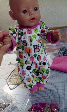 Anziehsachen für Baby Born aus Jersey als Geschenk