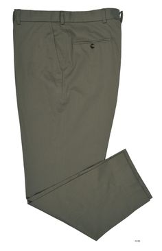 Light Olive Plain Soft Chino - Bespoke Shirts by Luxire. Custom made to Perfection