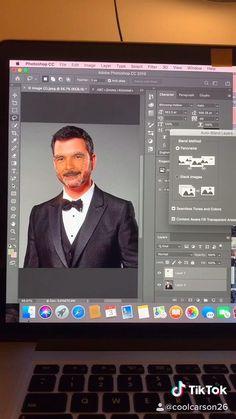 Jimmy Kimmel or Guillermo LOL Photoshop Editing Tutorials, Learn Photoshop, Creative Photoshop, Photoshop Tutorial, Graphic Design Lessons, Graphic Design Tutorials, Photo Manipulation Tutorial, Affinity Photo, Photoshop Photography
