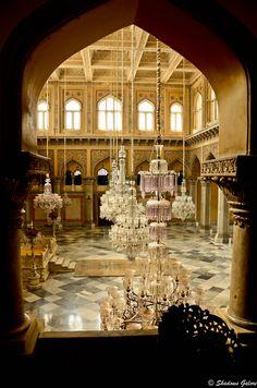 Nizam's Chowmahala Palace, Hyderabad, India #travel