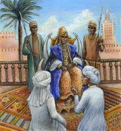 * Mansa Musa, King of Mali