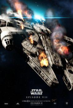 Star Wars Episode VII Poster by sahinduezguen on deviantART