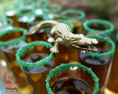 Especially because of the crocodiles, they're kind of everywhere.   This Peter Pan Wedding Will Make You Feel Like A Kid Again