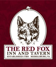 Red Fox inn and tavern. One of the oldest restaurants in the country...