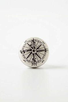 Anthropologie - Compass Knob