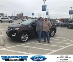 Waxahachie Ford Customer Review  Casey and justin took great care of us and make this the easiest buying experience.  Donna, https://deliverymaxx.com/DealerReviews.aspx?DealerCode=E749&ReviewId=56673  #Review #DeliveryMAXX #WaxahachieFord