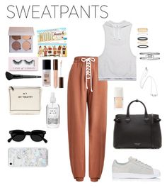 """""""Sweat Style"""" by emmmilyallen ❤ liked on Polyvore featuring Puma, Calvin Klein Jeans, adidas, Accessorize, Gucci, Burberry, Boohoo, Old Navy, Bag-All and Herbivore"""
