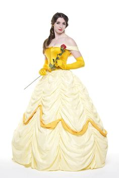 Belle  Beauty and the Beast Full Cosplay Costume