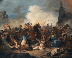 """Άγνωστος: """"Σφαγή των Ελλήνων στο Μεσολόγγι"""" - unknown"""
