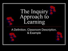 This presentation addresses the inquiry research method. It discusses what inquiry research is and how to implement it with students. Inquiry Based Learning, Research Methods, Presentation, Students, Classroom, Play, Class Room