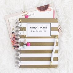 So excited about my new @baileycraftplanners 2017 Simply Yours horizontal planner!! 😍 I can't wait to start planning and decorating in it 🤗 I love trying out new planners and sharing it with you all so let me know if you guys have any specific questions you'd like me to answer below 😊